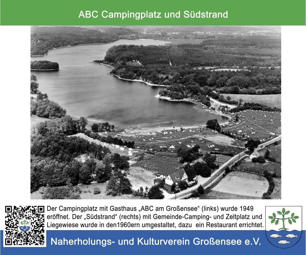 Historischer Rundweg Grossensee Infotafel