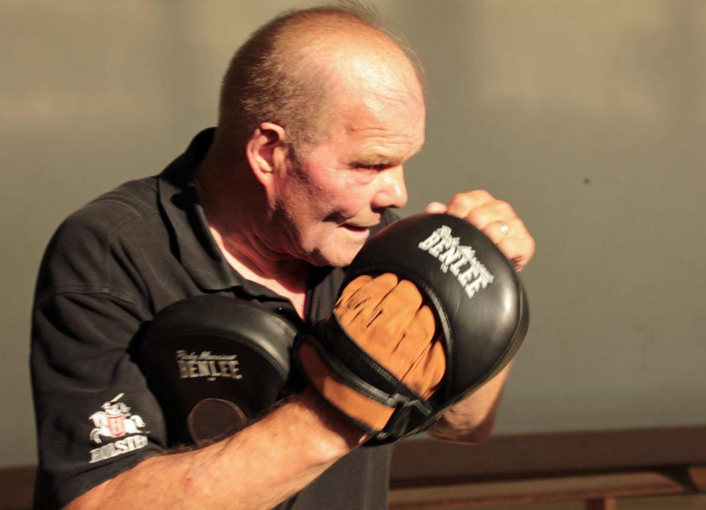 Profi-Boxer Jürgen Blin war zu Gast beim NUK